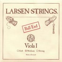 "Larsen up to 16.5"" Viola A String - Medium Gauge - Alloy Wound Steel Core - Ball End"