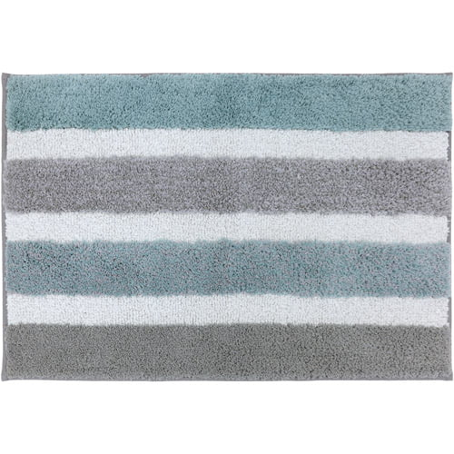 Click here to buy Better Homes and Gardens Stripe Bath Rug, 1