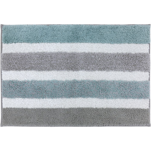 "Better Homes and Gardens Stripe Bath Rug, 1'8"" x 2'6"""