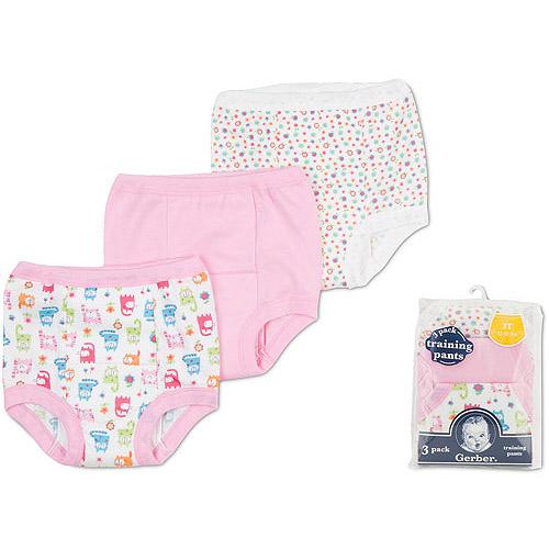Gerber - Baby Boys' Cotton Training Pants, 3-Pack