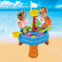 Tailored Sand & Water Table Watering Can & Spade Kids Outdoor Garden Sandpit Toy Set