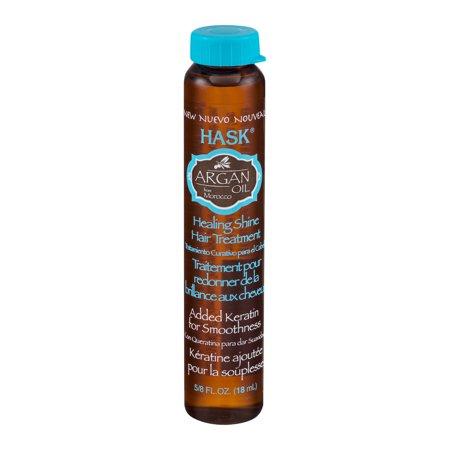 Hask Argan Oil Healing Shine Hair Treatment  0 625 Fl Oz