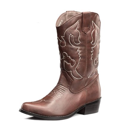 SheSole Women's Western Cowgirl Cowboy Boots](Light Up Cowgirl Boots)