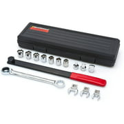 GEARWRENCH 15 Pc. Ratcheting Serpentine Belt Tool Set - 3680D, Combining the innovation of a GEARWRENCH ratcheting wrench with the requirements.., By Visit the GEARWRENCH Store