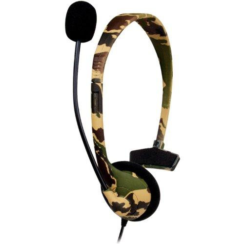 DREAMGEAR DRM1722M Gaming, dreamgear, Xbox 360 Broadcaster Headset - Camo