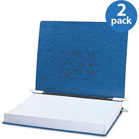 Acco Data Binder - ACCO Pressboard Hanging Data Binder, Dark Blue, 2 Pack