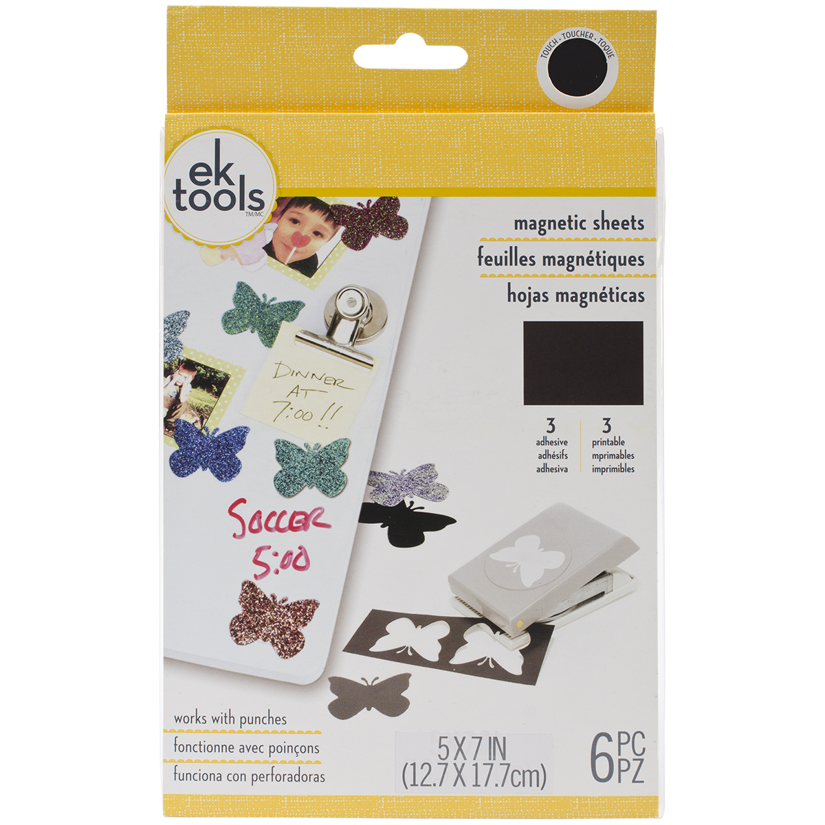 "Magnetic Sheets 6pk, 5"" x 7"""