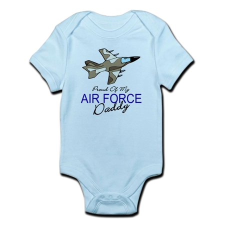CafePress - Air Force Daddy Infant Bodysuit - Baby Light (Size 28 Onesie)