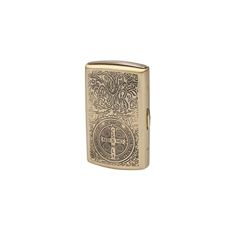 Carved Constantine Pure Copper Metal Cigarette Case/Holder/Box, Holds 12 Pcs Cigarettes