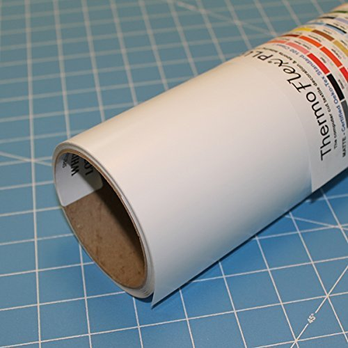 ThermoFlex Plus 15' x 5' Roll White Heat Transfer Vinyl