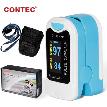 OLED Finger tip Pulse Oximeter Blood Oxygen Monitor CONTEC