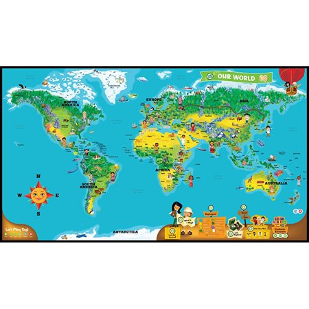Leapfrog leapreader interactive world map works with tag walmart leapfrog leapreader interactive world map works with tag gumiabroncs Image collections