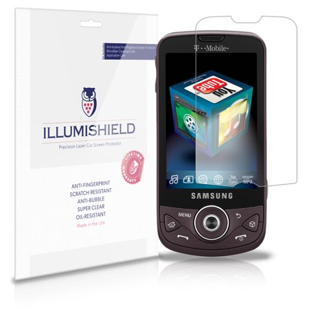 iLLumiShield Phone Screen Protector w Anti-Bubble/Print 3x for Samsung Behold