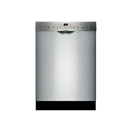 Bosch Ascenta SHE3AR75UC - Dishwasher - built-in - Niche - width: 24 in - depth: 24 in - height: 33.9 in - stainless steel (Dishwashers Built In 24)