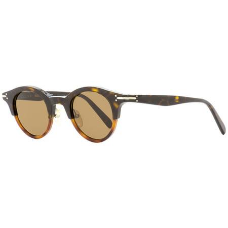 Celine Oval Sunglasses CL41395S T6UA6 Dark/Light Havana 45mm 41395 ()