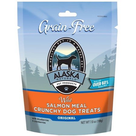 Image of Alaska Naturals Wild Alaska Salmon Crunchy Dog Snacks, 3 oz