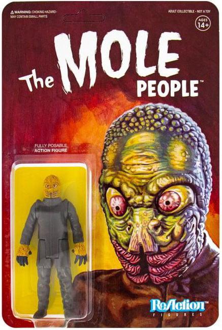 "Super7 The Mole People Reaction Action Figure 3.75/"" Posable Mint On Card."