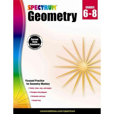 Spectrum Geometry Grades 6 8