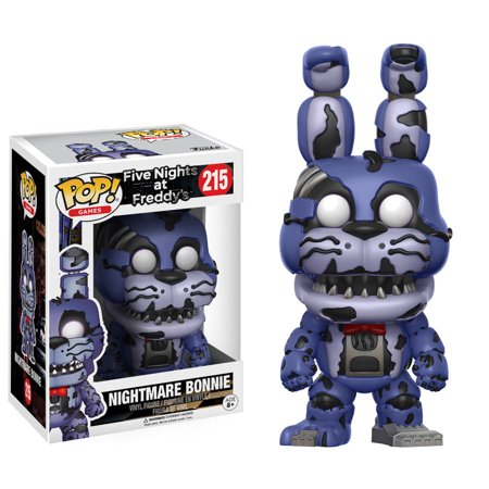 Funko Pop Games: FNAF - Nightmare Bonnie (Fnaf 4 Halloween Update Trailer)
