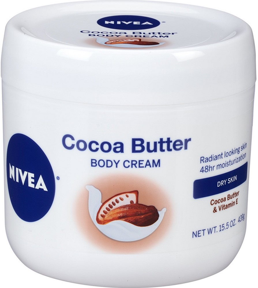 6 Pack - Nivea Cocoa Butter Body Cream 15.5 oz