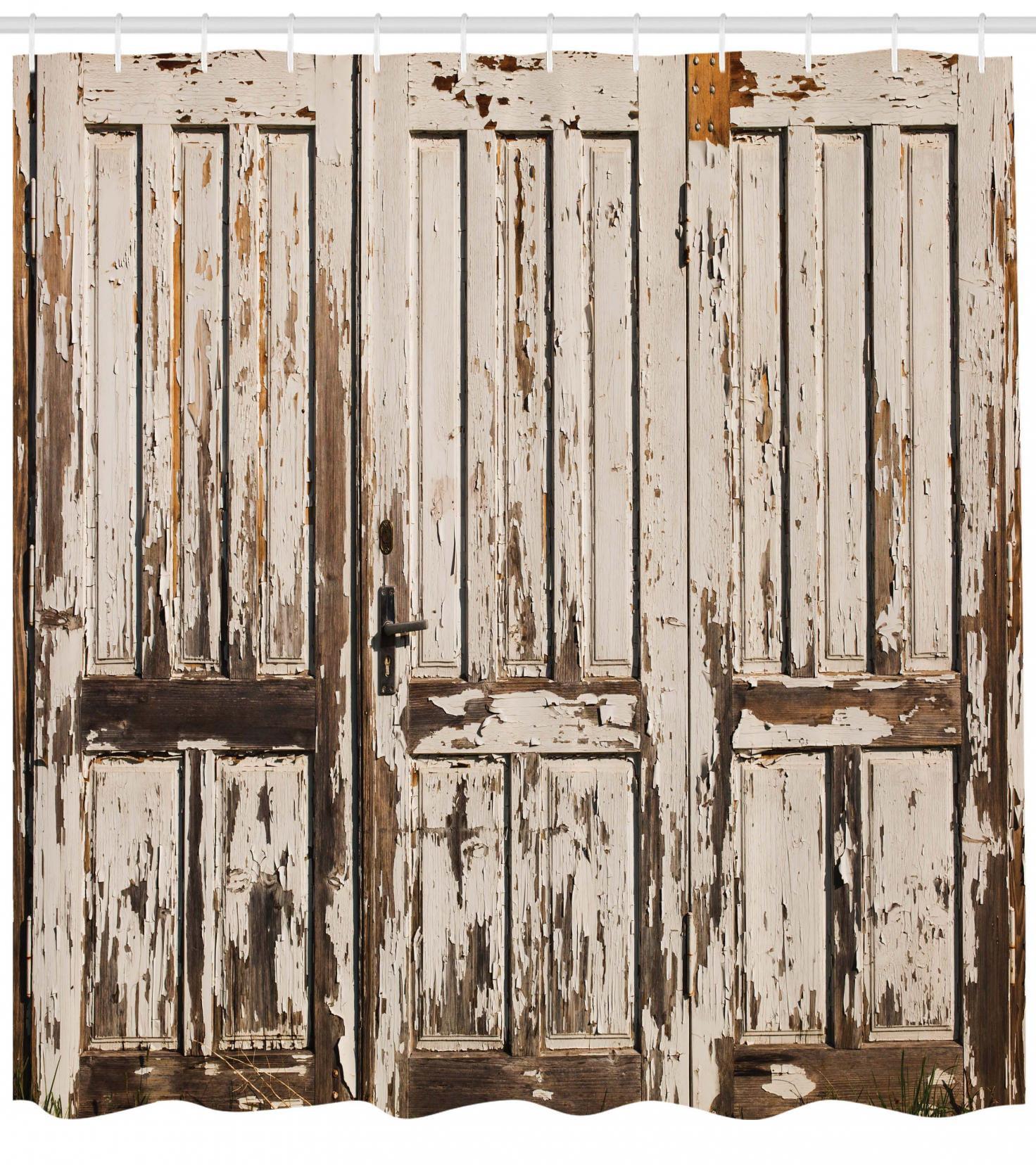 Country Primitive Rustic Door Knob Shower Curtain Hooks