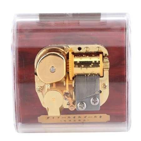 Domqga Acrylic Music Box Gold-plated Movement Music Box Musical Toy Kids Children Gift Home Decor, Musical Toy Kids Gifts, Music Box - image 2 de 7