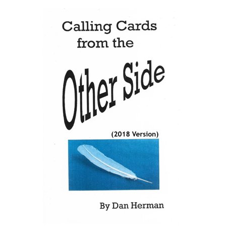 Calling Cards from the Other Side (2018 version) -