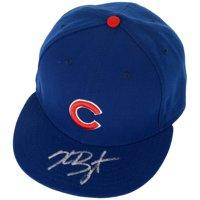Kris Bryant Chicago Cubs Fanatics Authentic Autographed Navy Cap - No Size