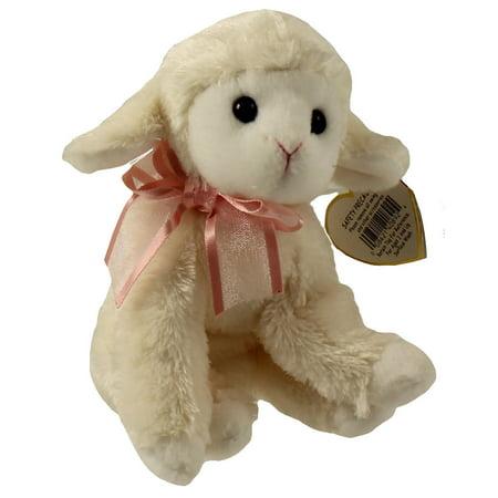 TY Beanie Baby - FLEECIA the Lamb (5.5 inch)