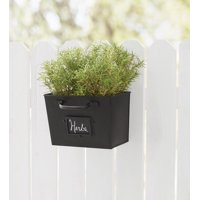 Mainstays Hanging Planter with Chalkboard ID Tag