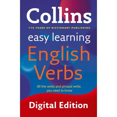 Easy Learning English Verbs (Collins Easy Learning English) - (List Of English Verbs And Their Conjugations)