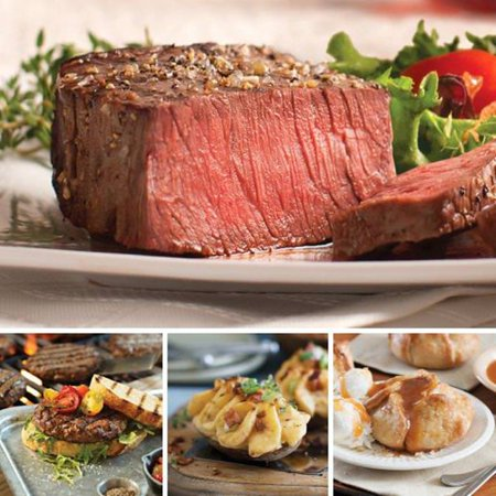Omaha Steaks Top Sirloin Dinner Father's Day Gift Holiday Father's Day Food Christmas Gift Package Gourmet Deluxe Steak Gift Birthday Gourmet Dinner Gift