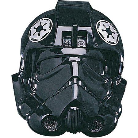 Star Wars Adult Fighter Collectors Helmet Halloween Costume Accessory (Star Wars Costumes For Kids Uk)