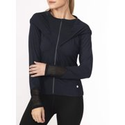 Bally Total Fitness Women's Active Asana Crop Hoodie