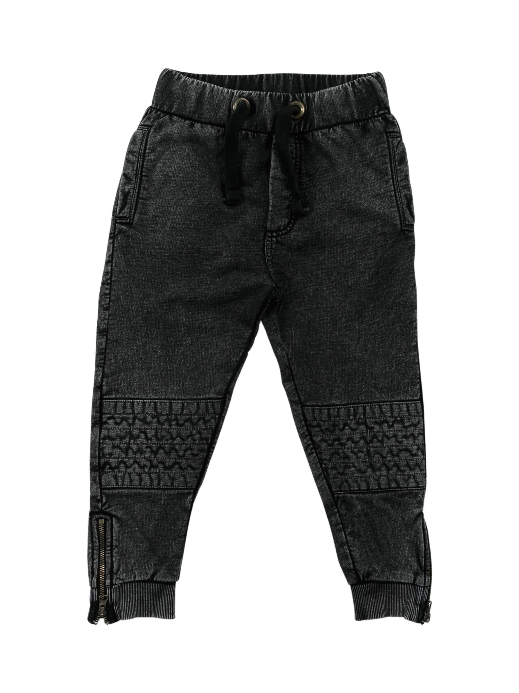 Ankle Zip Moto Jogger Pants (Toddler Boys)
