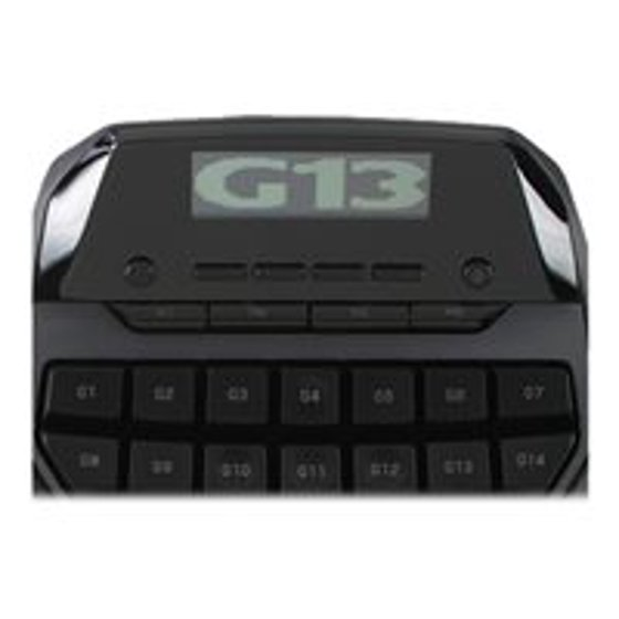 283d749c6f5 Logitech G13 Advanced Gameboard - Command pad - 25 buttons - wired - for PC  - Walmart.com