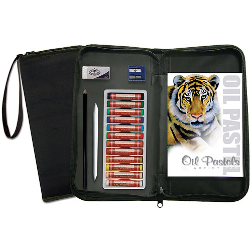 Royal & Langnickel Oil Pastel Essentials Keep N' Carry Set