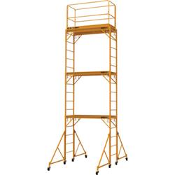 METALTECH Scaffold Tower,Steel,Wood I-T3CISC by Metaltech