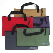 Canvas Tool Bags with Handles - 5 Pack - Heavy Duty Storage and Organizer Bags for Work, Home, Office, Travel, Crafts