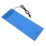 85 Keys Flexible Keyboard USB Interface Foldable and Portable Dustproof Waterproof Quiet