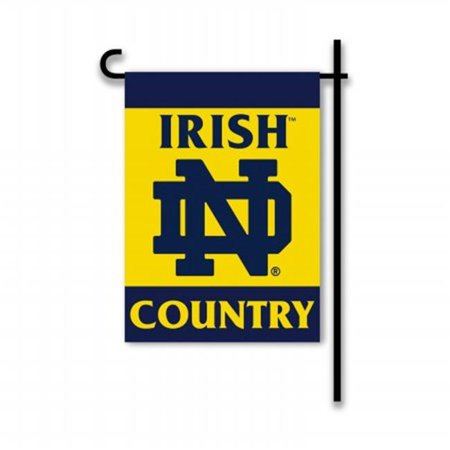 Notre Dame Fighting Irish 2-Sided Country Garden Flag - image 1 of 1