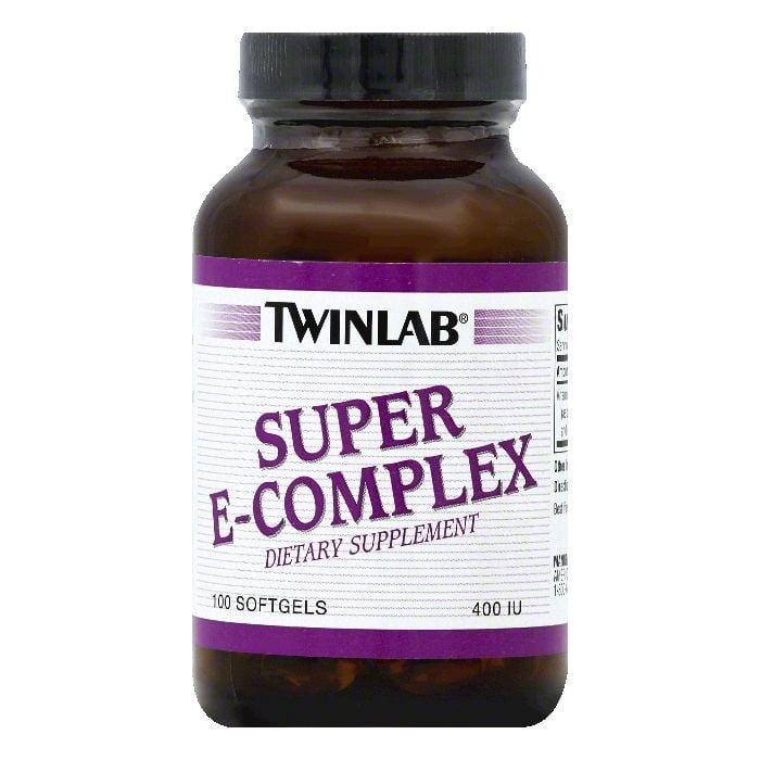 TwinLab Softgels 400 IU Super E-Complex, 100 ea