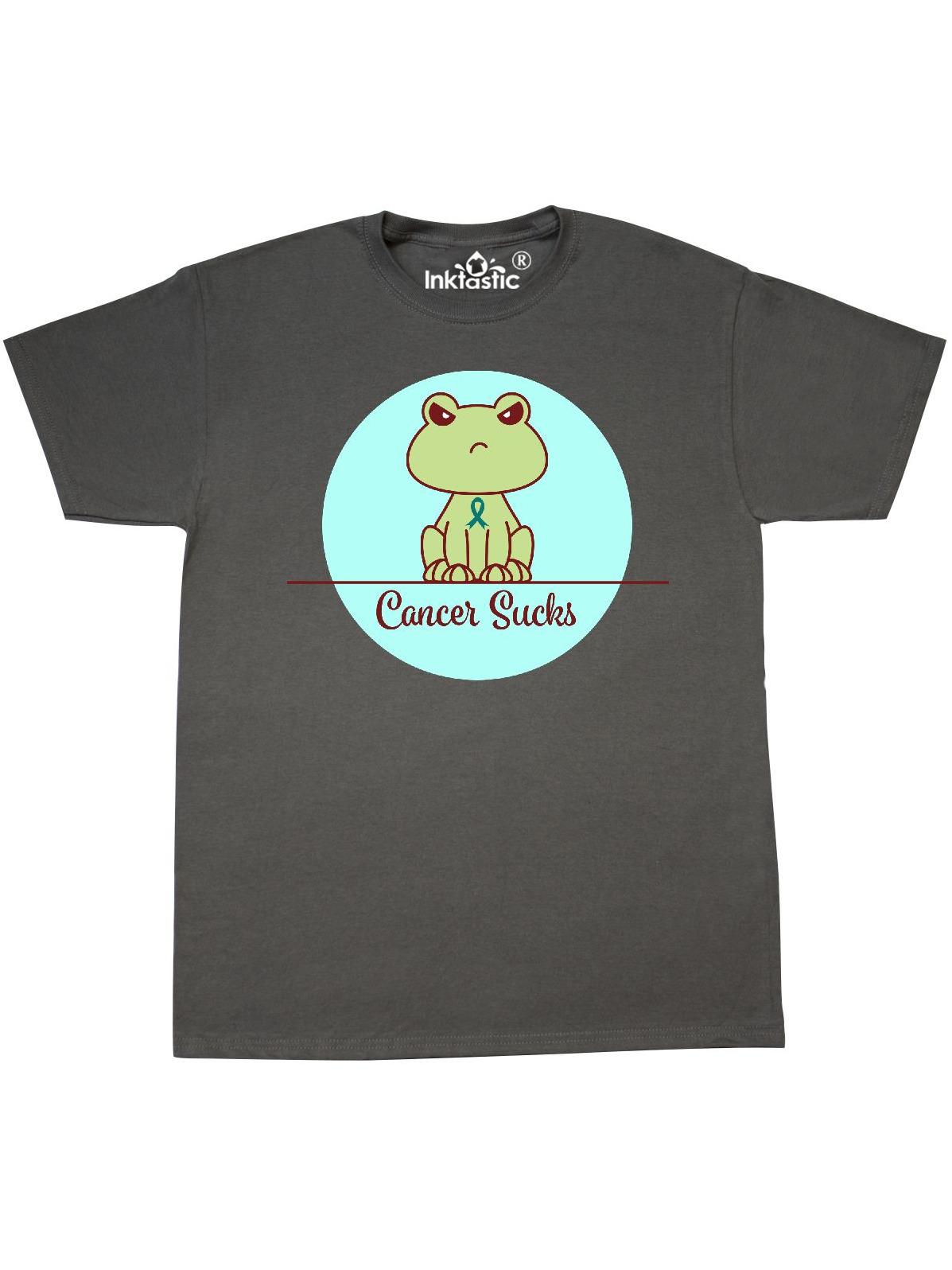 8951d690eb ... inktastic ovarian cancer s frog t shirt com ...