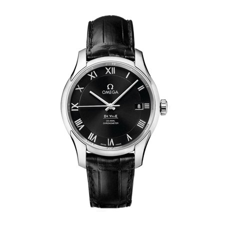 De Ville Automatic Steel Mens Strap Watch Black Dial 431.13.41.21.01.001 ()