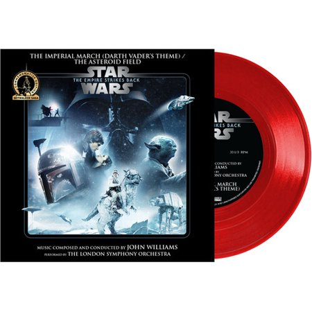 John Williams - Star Wars - The Imperial March (Darth Vader's Theme) / The Asteroid Field (Walmart Exclusive) Soundtrack - Vinyl (7-Inch)