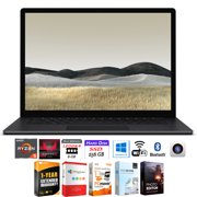 """Microsoft VGZ-00022 Surface Laptop 3 15"""" Touch AMD Ryzen 5 3580U 8GB/256GB Bundle with Elite Suite 18 Software (Office Suite Pro, Photo Editor, PDF Editor, PCmover Pro) + 1 Year Extended Warranty"""