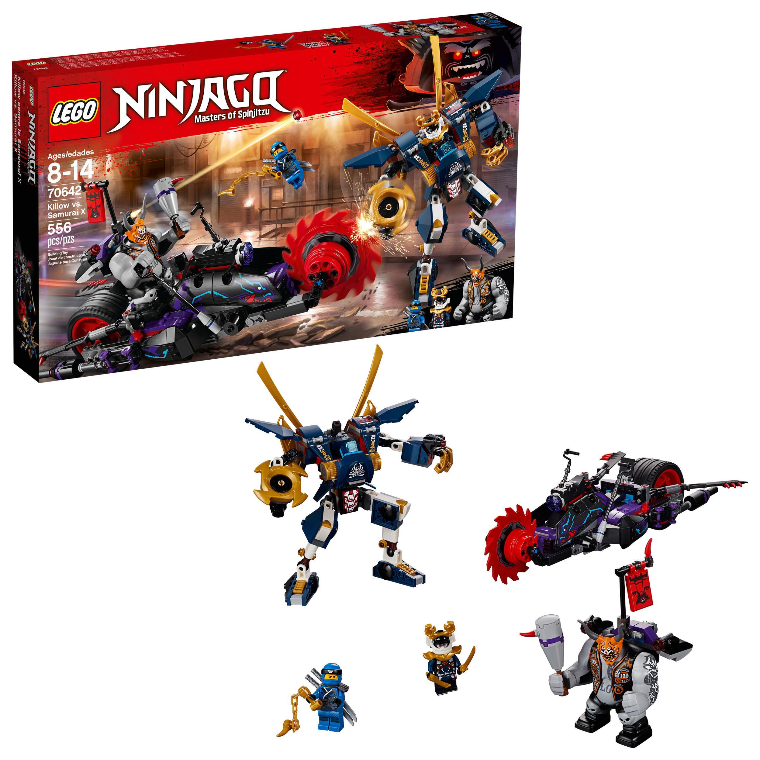 LEGO Ninjago Killow vs. Samurai X 70642 (556 Pieces)