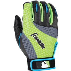 Franklin Sports Youth 2nd-Skinz Batting Gloves, Assorted by Franklin Sports