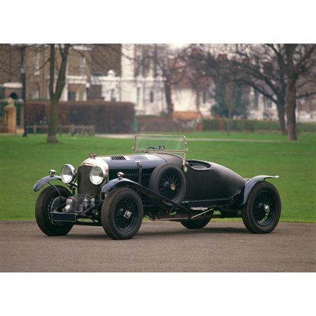1931 Bentley 45 litre supercharged Blower racing 2-seater (no 5 Birkin team  car) Country of origin United Kingdom Canvas Art - Panoramic Images (18 x