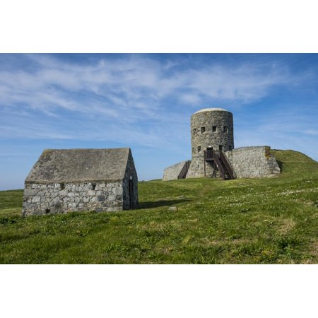 Matello Defence Tower, Guernsey, Channel Islands, United Kingdom Print Wall Art By Michael (Best Tower Defence 2019)